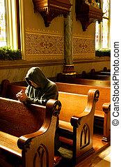 orações, igreja