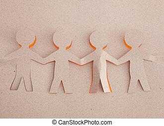 origami, human