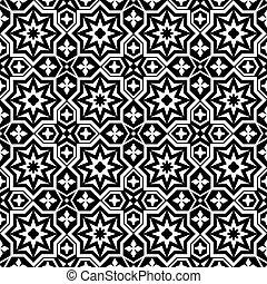 ornamental, abstratos, seamless, padrão experiência
