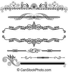 ornamental, horizontais