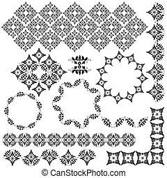 ornamento, desenho