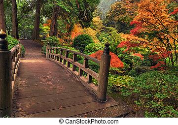 outono, ponte