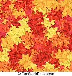 outono sai, seamless, maple