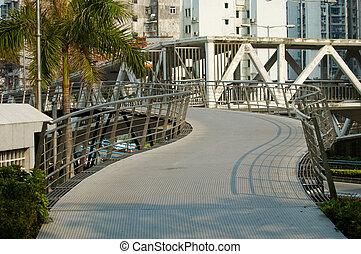 overbridge, parque
