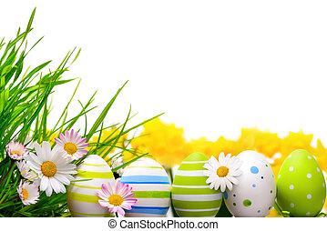 ovos, páscoa, arranjo