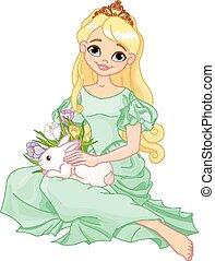 páscoa, princesa