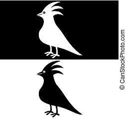 pássaro, sombra