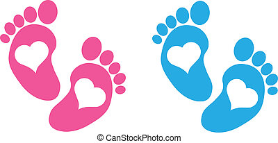pés bebê