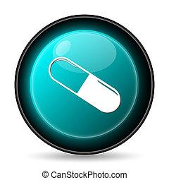 pílula, ícone
