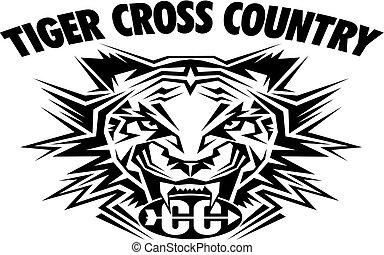 país, tiger, crucifixos