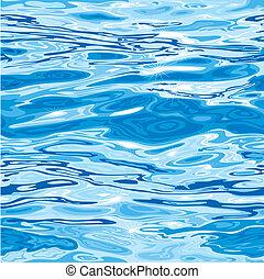 padrão água, seamless, superfície
