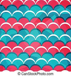 padrão, abstratos, círculo, seamless
