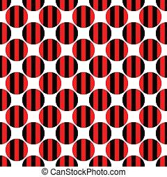 padrão, abstratos, fundo, círculo, repetindo