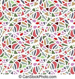 padrão, abstratos, seamless, mosaico