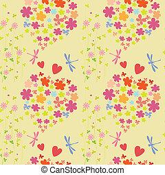 padrão, alegre, coloridos
