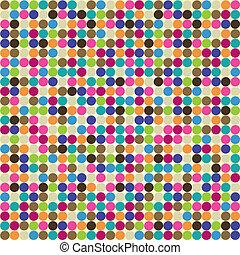 padrão, círculo, abstratos
