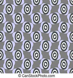 padrão, cinzento, repetindo
