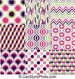 padrão, coloridos, seamless, geomã©´ricas