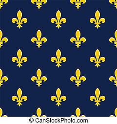 padrão, emblema, amarela