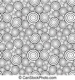 padrão, espiral