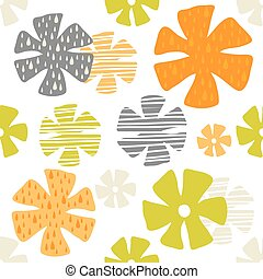 padrão, flor, coloridos, fundo