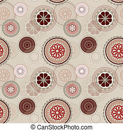 padrão, flor, seamless, fundo