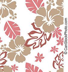 padrão, flor, seamless, tecido