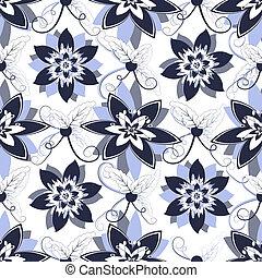 padrão floral, seamless