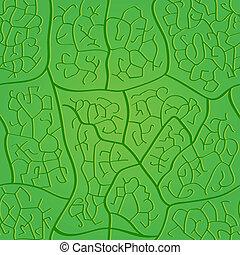 padrão, folha, seamless
