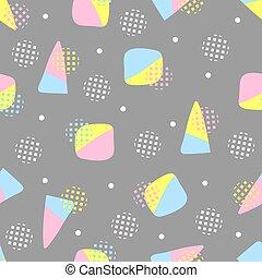 padrão, fundo, coloridos, seamless, sobremesa