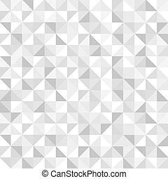 padrão, geomã©´ricas, seamless, cinzento