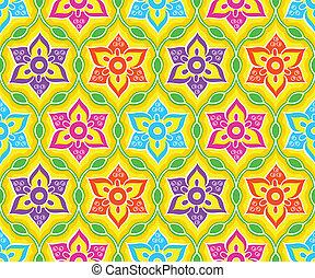 padrão, indianas, seamless