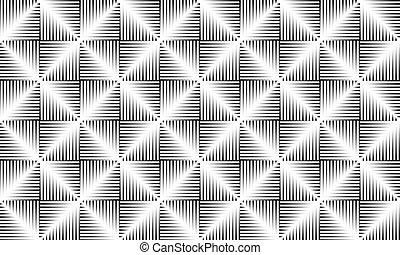 padrão papel parede, geomã©´ricas, imprimindo, têxtil, interior, formas, projetos