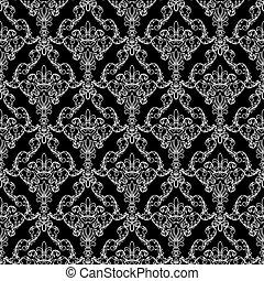 padrão, papel parede, seamless
