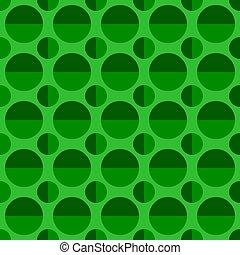 padrão, projeto abstrato, fundo, círculo, repetindo