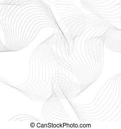 padrão, projeto abstrato, seu, onda