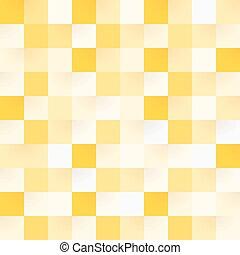 padrão, quadrado, amarela