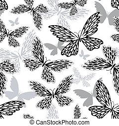 padrão, repetindo, white-black