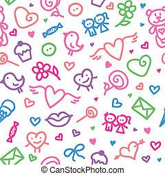 padrão, romanticos, seamless