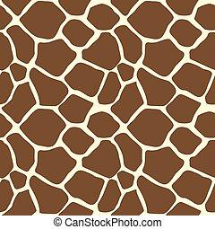 padrão, seamless, impressão, girafa, animal, azulejo