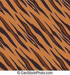 padrão, seamless, impressão tigre, animal, azulejo