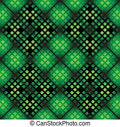 padrão, seamless, mosaico