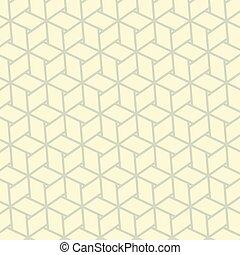 padrão, seamless, tecido