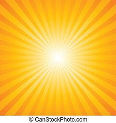 padrão, sunburst