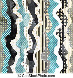 padrão, tecido, seamless