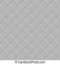 padrão, vetorial, -, seamless, chão