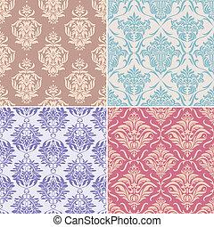 padrões florais, seamless