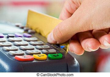 pagamento, cartão