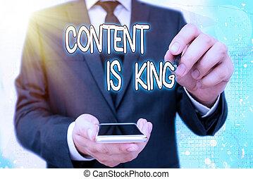 pago, king., conteúdo, significado, crescendo, letra, focalizado, marketing, results., non, texto, busca, visibilidade, conceito