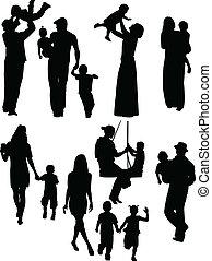 pais, crianças